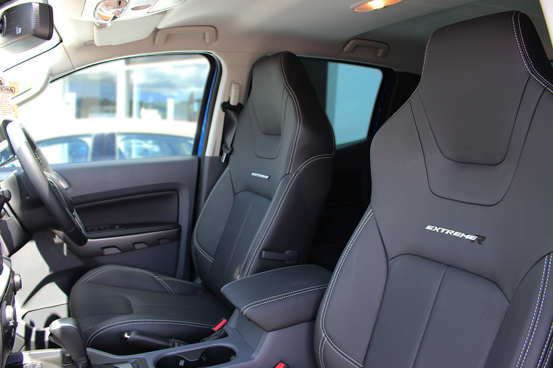 Ugraded Leather Sports Seats